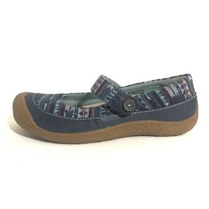 KEEN LEATHER MARY JANE Shoes Size 9 CONTOUR ARCH
